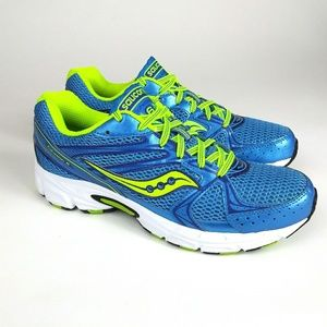 SAUCONY 'Grid Cohesion' Running Shoe Bright Neon